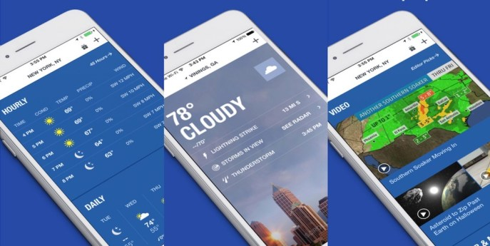 Best Free Weather Apps for iPhone & Android Smartphones