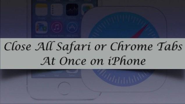 close-safari-or-chrome-tabs