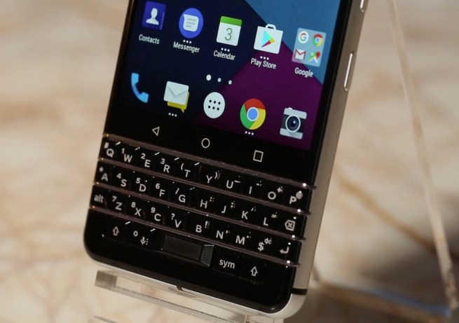 Blackberry Mercury Keyboard