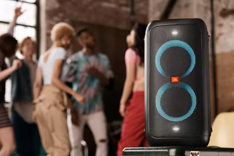 JBL Party Box 100 – Cea mai bună boxă portabilă mare karaoke