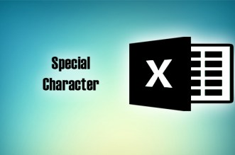 Special Character Meaning in MS Excel