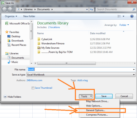 How to Lock an Excel file with a Password (very easy