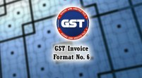 GST Invoice Format in Excel, Word, PDF and JPEG (Format No. 6)