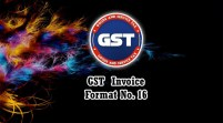 GST Invoice Format in Excel, Word, PDF and JPEG (Format No. 16)