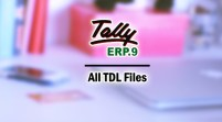 All TDL Files for Tally ERP 9