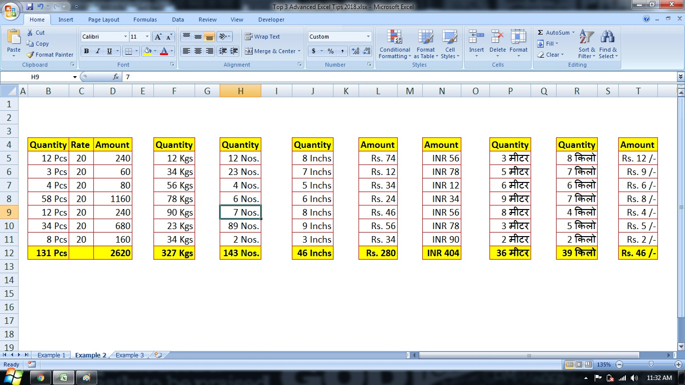 Top 3 Advanced Excel Tips In Hindi