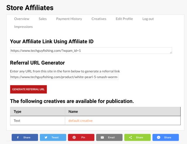 Affiliate URL Link Generator