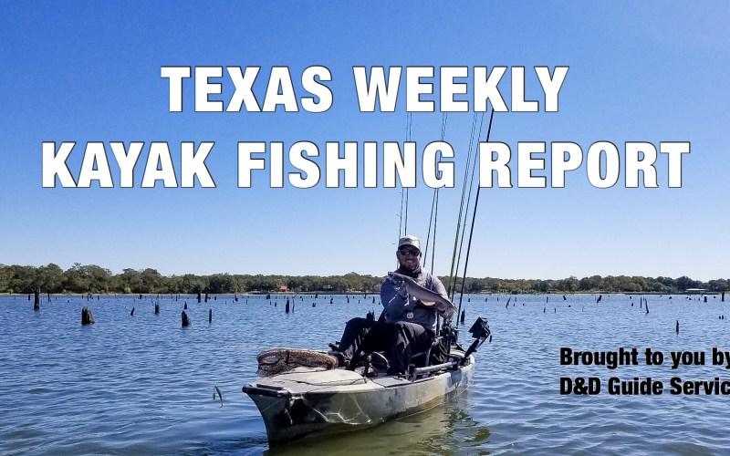 Texas Weekly Kayak Fishing Report