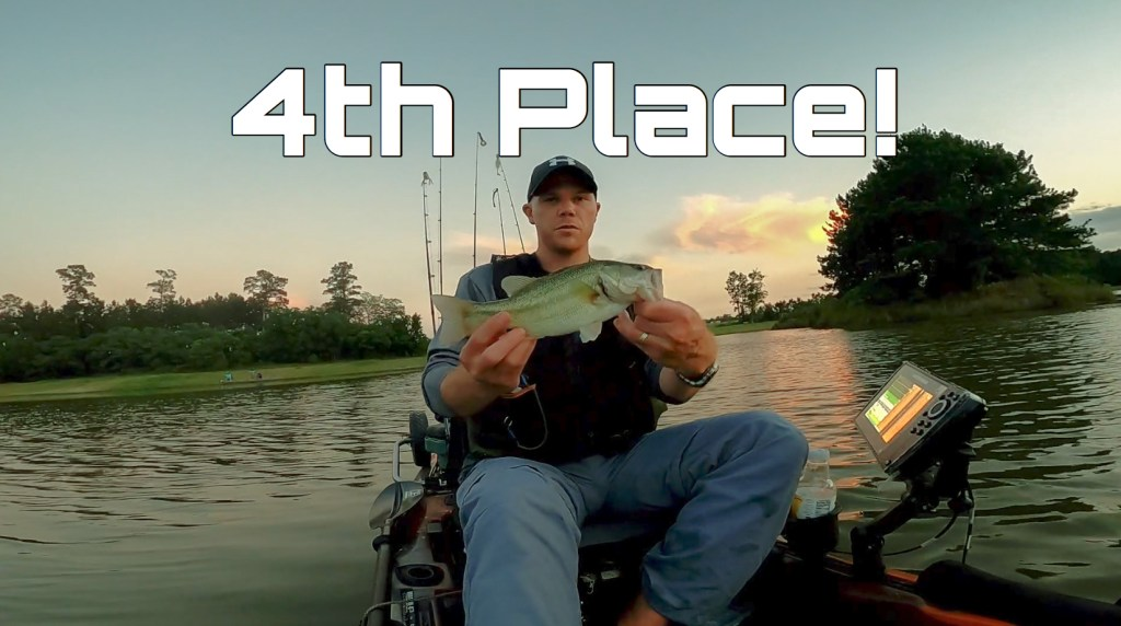 Weekly Jackpot Tournament - 4th Place on Lake Holcomb