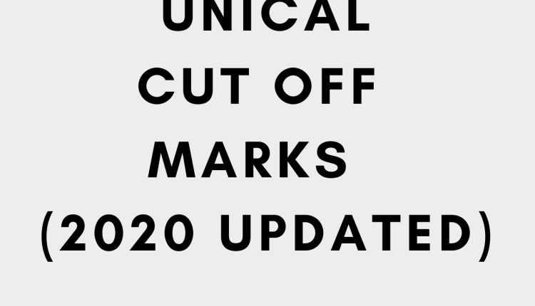 Unical cut off mark 2020