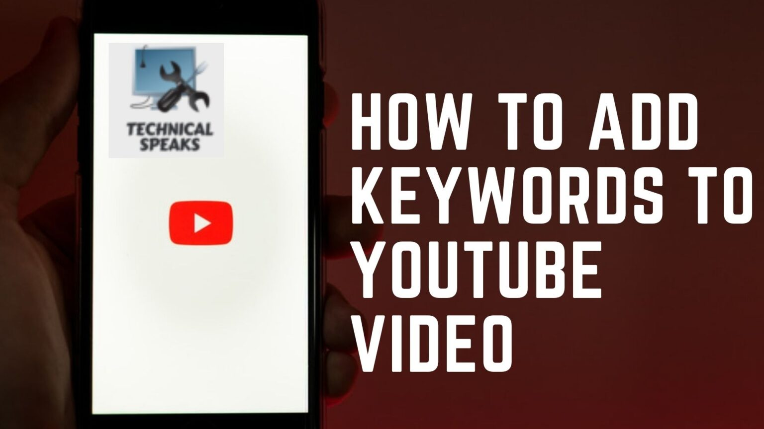 Add Keywords to YouTube Video