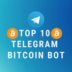 Top 10 Telegram Bitcoin Bot