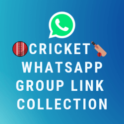Cricket Whatsapp Group Link Collection