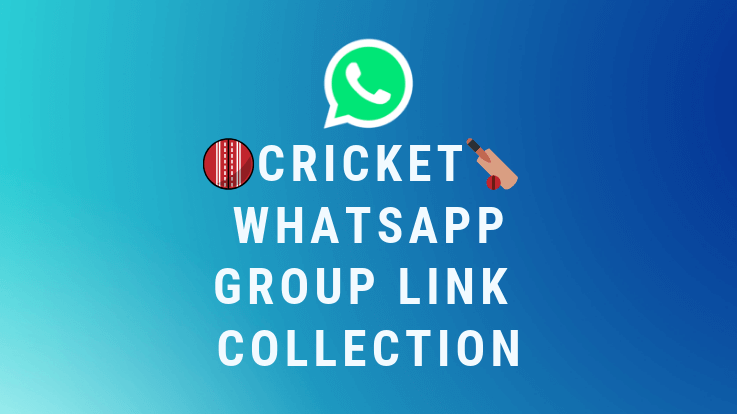 100+ Cricket Whatsapp Group Link Collection 2019 - TechiePhi