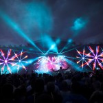 Colour Sound Lights Creamfields 2014 Outdoor Stages