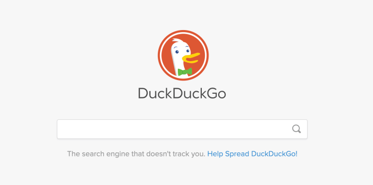 DuckDuckGo search engine