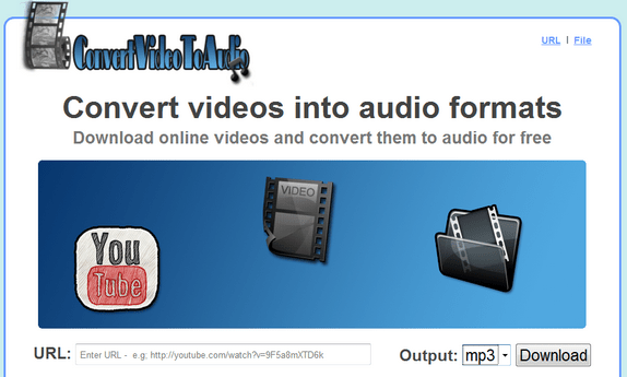 Convert Online Videos To Audio Free Online Using ConvertVideoToAudio