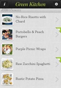 Green Kitchen App