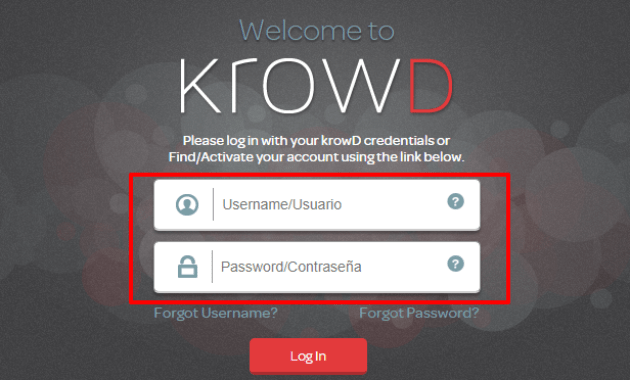 Krowd Darden Forgot Password