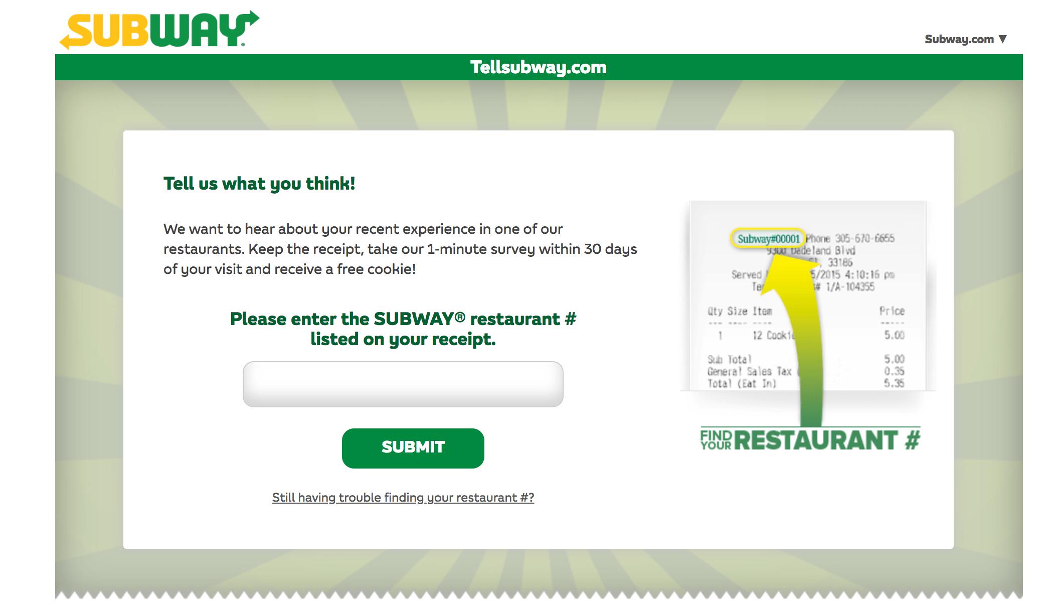 tellsubway-survey