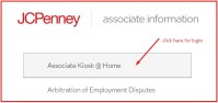 JC Penney Associate login