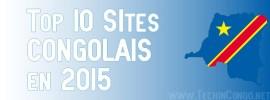 Top 10 des Sites internet Congolais les plus visités – 2015