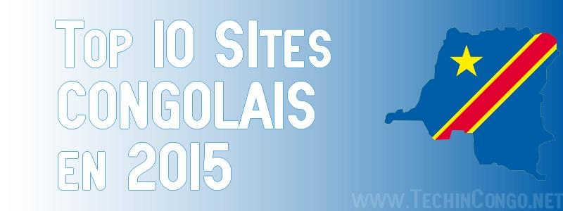 Top 10 Sites Congolais 2015