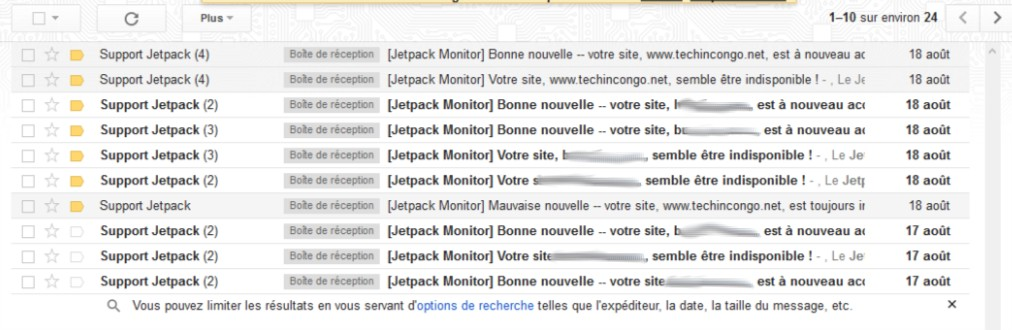 Mes mails