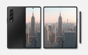 Samsung Galaxy Z Fold 3 Render image