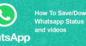 Download whatsapp Status Image and Video