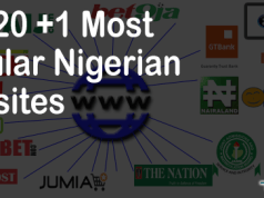Top 20 Most Popular Nigerian Website