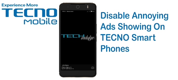 Annoying Ads Showing On TECNO Smart Phone