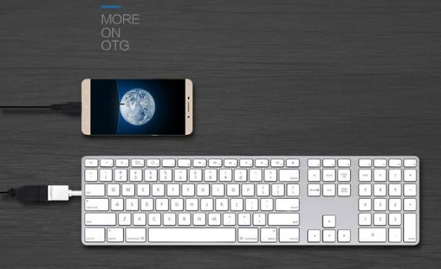 OTG Connection With Keyborad
