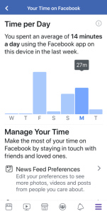 Your-Time-On-Facebook-Dashboard