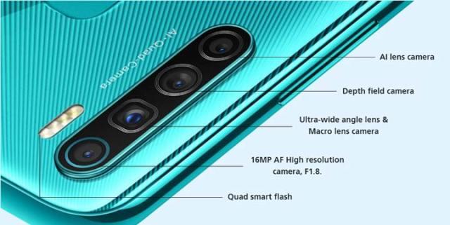 Infinix S5 camera