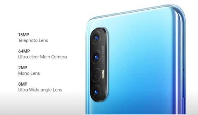 Oppo Reno 3 Pro rear camera