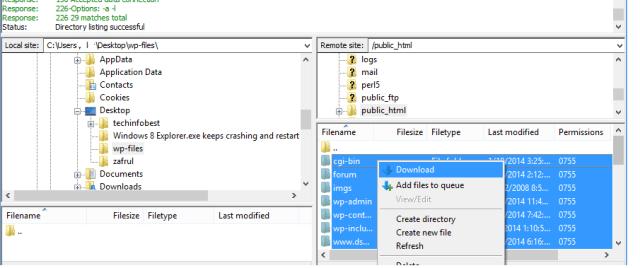 Filezilla-download