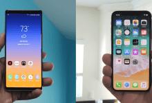 Galaxy Note 9 vs iPhone XS Max