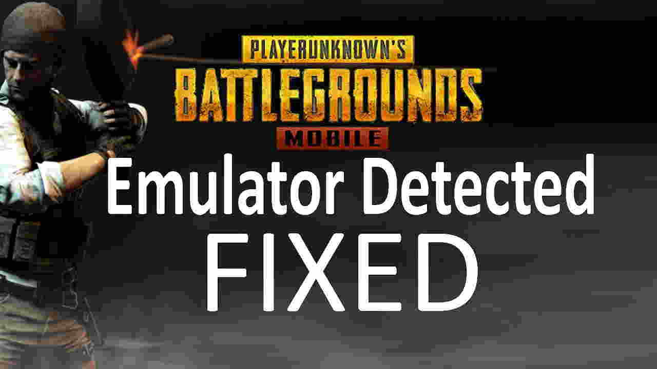 Fix PUBG Mobile Emulator Detected and Play @60fps in Any PC