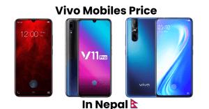 Vivo Mobile Proce in Nepal