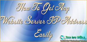 website-server-ip-address