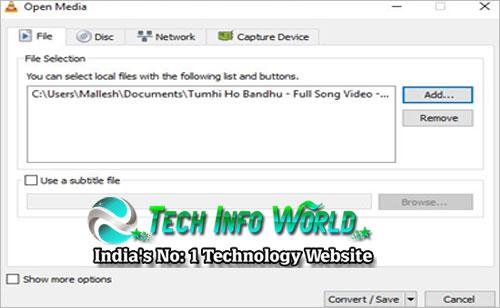 Convert Any Video into Audio