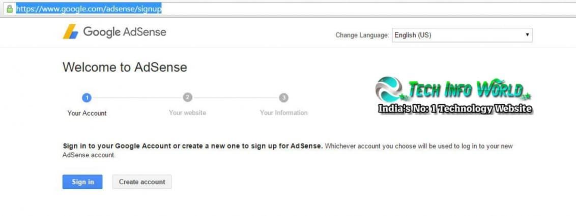 Google-Adsense-account-signup