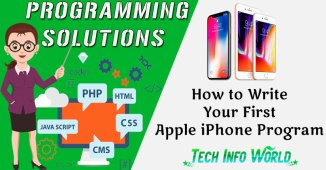 How to Write Your First Apple iPhone Program Effectively