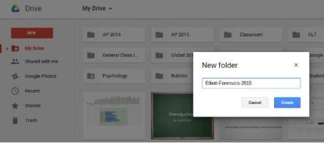 Shared Folder Naming