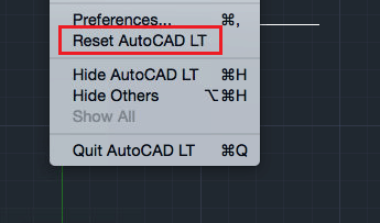 Reset AutoCAD DLL Load Failed