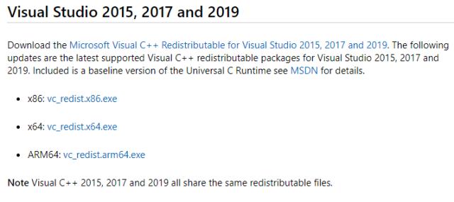 visual c++ Configuration Error
