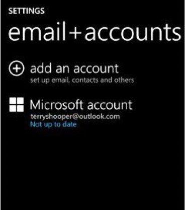 Sync your Microsoft Account