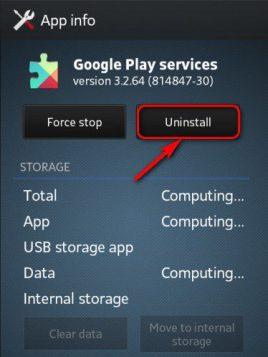 Uninstall Google Play & Download Google Play APK (Error 923)