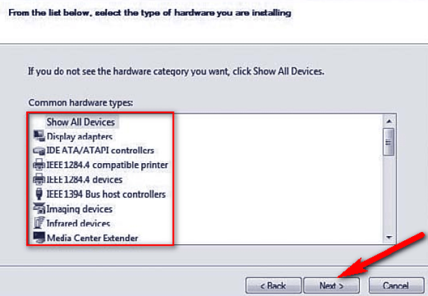 Remove or Reconfigure the newly installed device